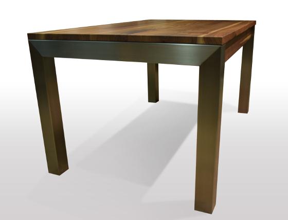 nussbaum tisch ausziehbar massiv carprola for. Black Bedroom Furniture Sets. Home Design Ideas