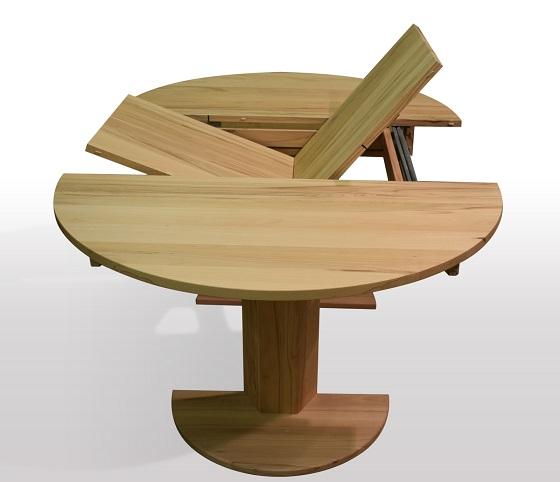 runder tisch zum ausziehen kaufen kreative ideen f r innendekoration und wohndesign. Black Bedroom Furniture Sets. Home Design Ideas
