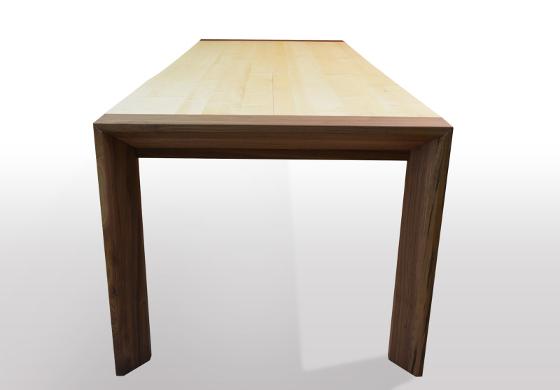 Massivholz esstische online kaufen tische nach ma for Wohnzimmertisch schmal