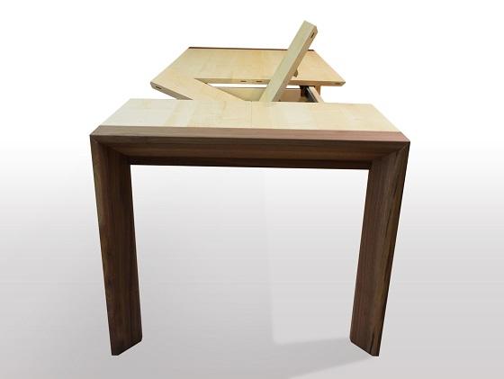esstisch nach ma ahorn massiv ausziehbar. Black Bedroom Furniture Sets. Home Design Ideas
