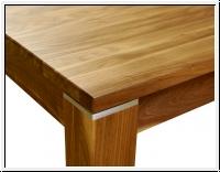 tisch nussbaum amerikanisch ausziehbar massiv 180 im shop. Black Bedroom Furniture Sets. Home Design Ideas