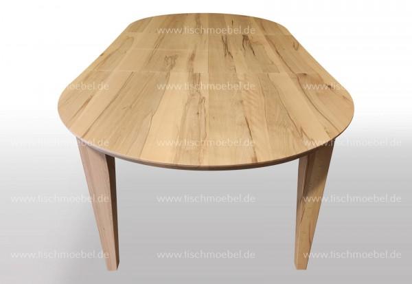 Tisch oval Kernbuche ausziehbar