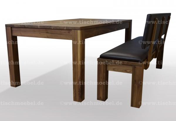 Tische und sitzbaenke aus nussbaum vom hersteller