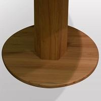 Holzfussplatte