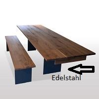 Edelstahlwange