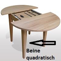 4-Bein-Gestell-quadratische-Beine