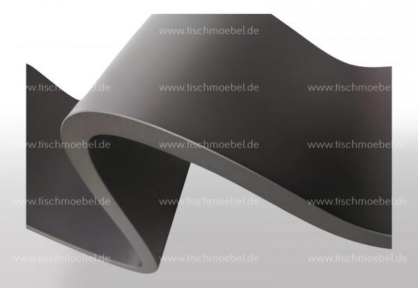 tischbein wave Schwarzstahl