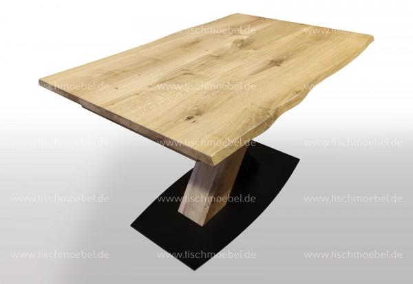 Tischplatte nach Maß Wildeiche massiv
