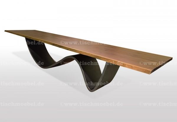 baumkanten-tisch-nussbaum-wave-untergestell-blankstahl 170x110cm