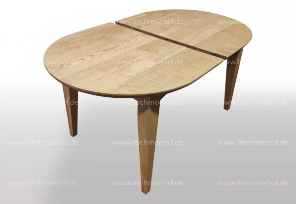 Tisch oval 180x100 ausziehbar Kirsche europäisch