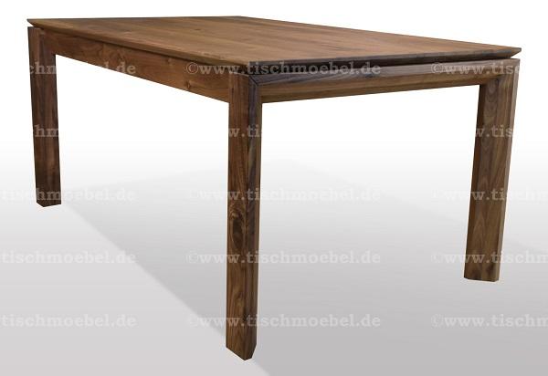 Tisch-modern-Walnuss-ausziehbar