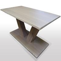 V-Untergestell-auf-Holzplatte-Fussplatte-Rechteck-oder-Baumkante