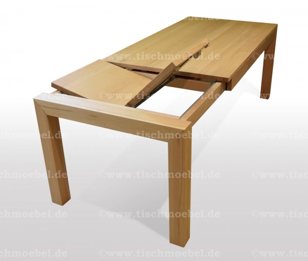 Tisch aus Buche ausziehbar 110 x 80 cm min